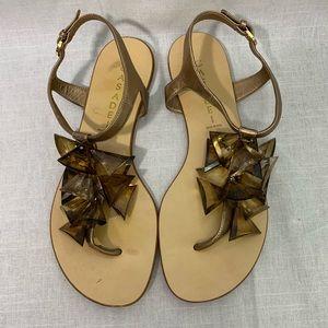 Casadei Large Jewel Sandal